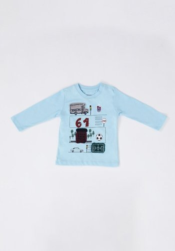 Trabzonspor Baby Sweater Blau