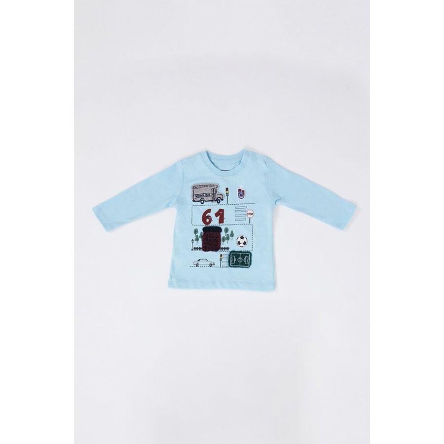 Trabzonspor Baby Sweater Blau