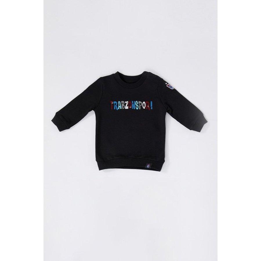 Trabzonspor Baby Sweater 'Trabzonspor' Black