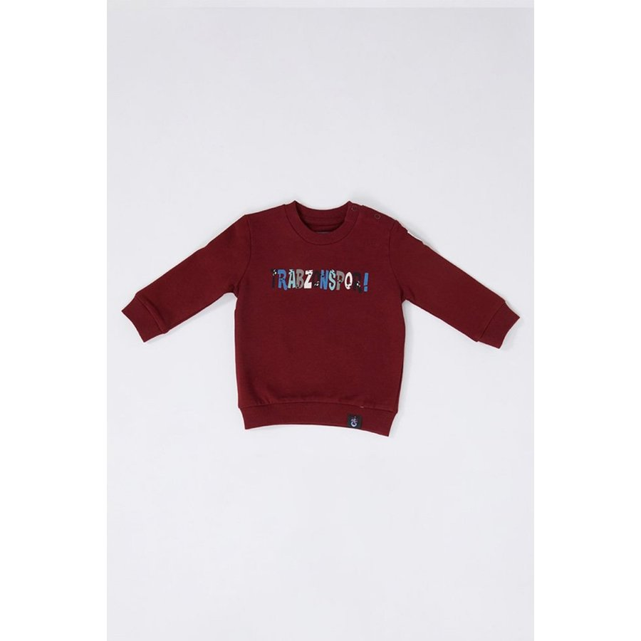 Trabzonspor Baby Sweater 'Trabzonspor' Bordeauxrot