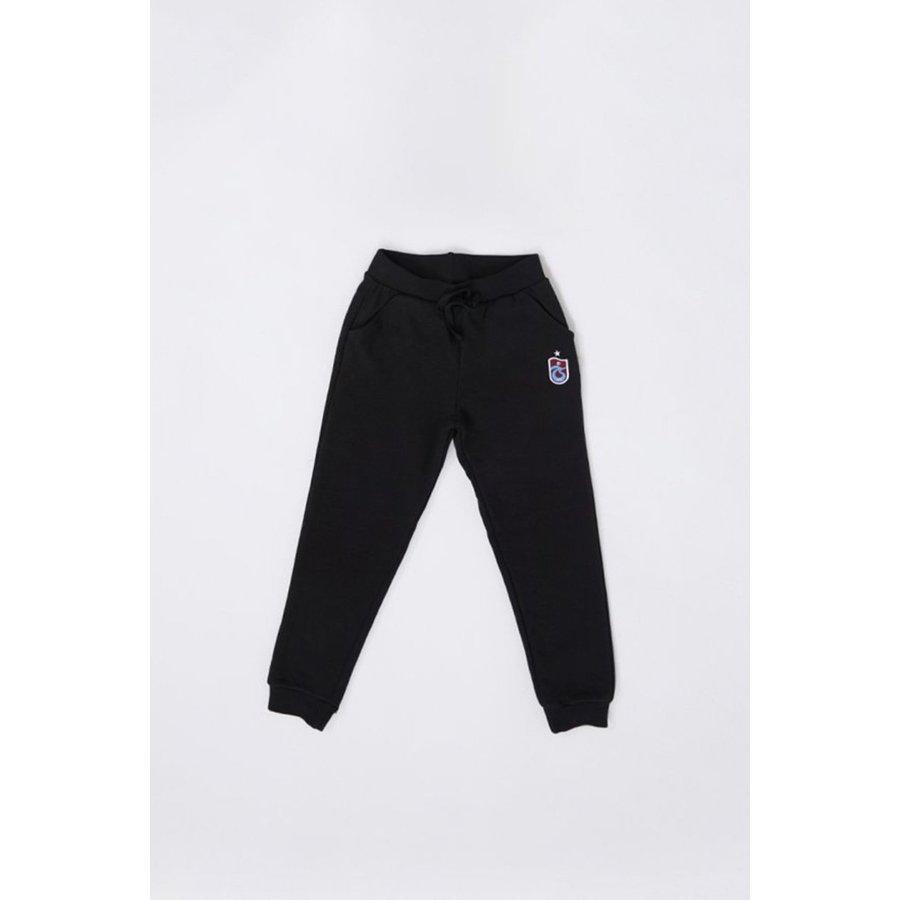 Trabzonspor Pantalon D`entraînement Logo Noir Pour Enfants