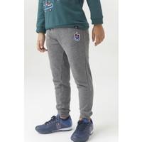 Trabzonspor Pantalon D`entraînement Logo Gris Pour Enfants