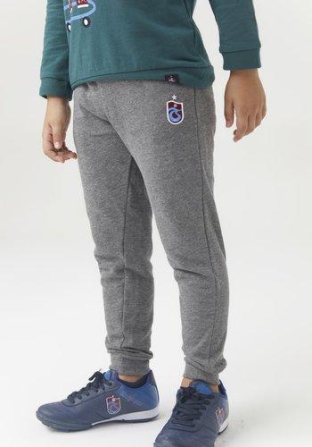 Trabzonspor Kids Training Pants Logo Grey