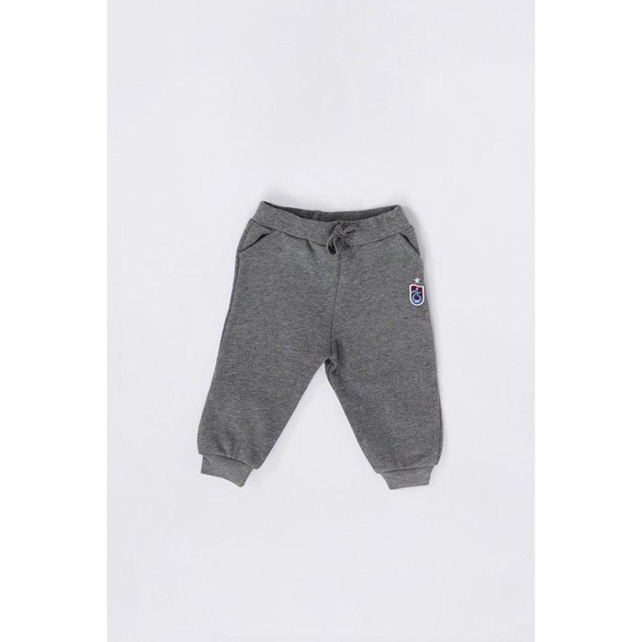 Trabzonspor Baby Training Pants Logo Grey