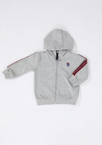 Trabzonspor Baby Hooded Sweater Grey