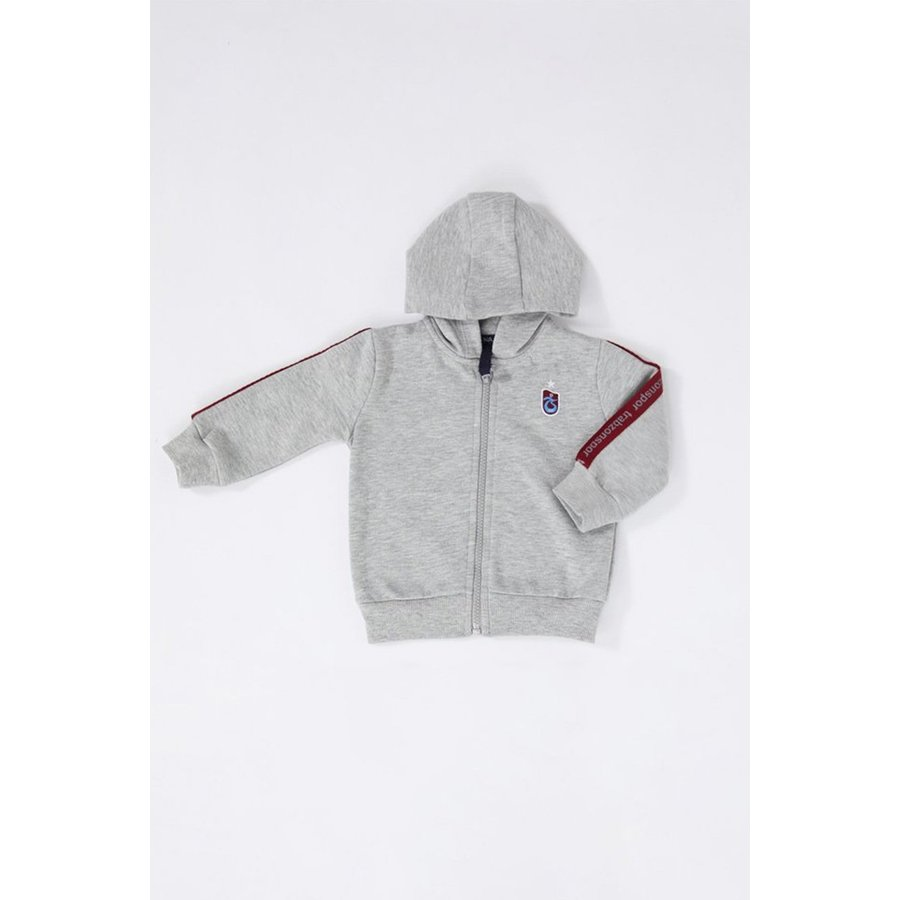 Trabzonspor Baby Hooded Sweater Grijs