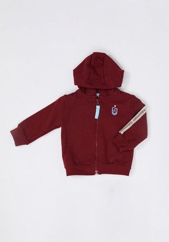 Trabzonspor Baby Hooded Sweater Burgundy