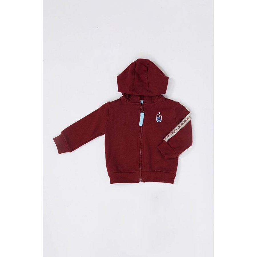 Trabzonspor Baby Hooded Sweater Bordeaux
