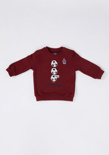 Trabzonspor Baby Sweater Burgundy