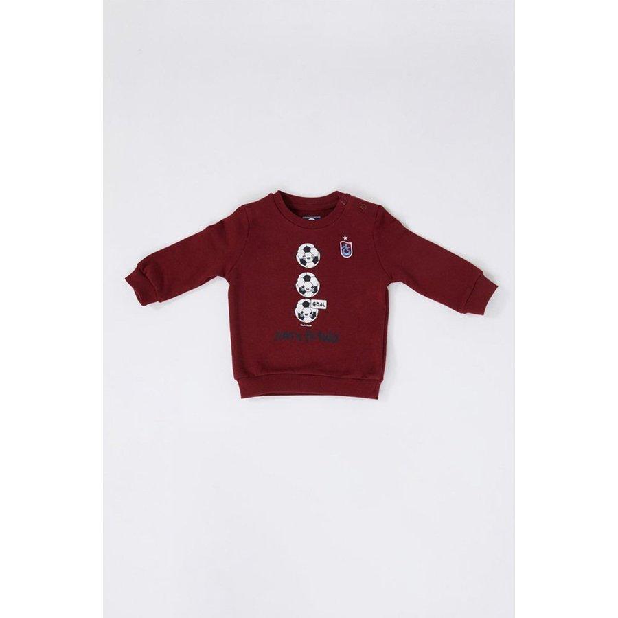Trabzonspor Baby Sweater Burgundy