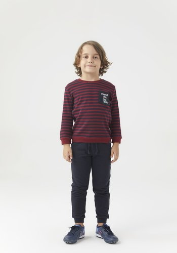 Trabzonspor Kids Sweater Burgundy