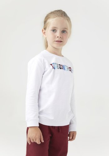 Trabzonspor Kids Sweater 'Trabzonspor' White