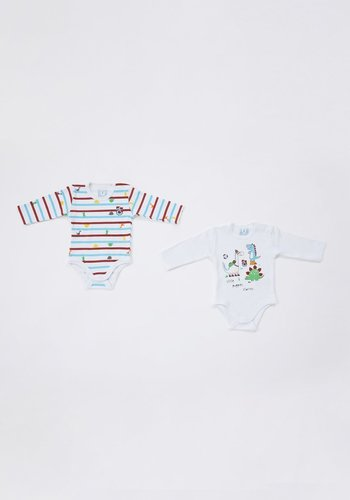 Trabzonspor two-piece Baby body set White
