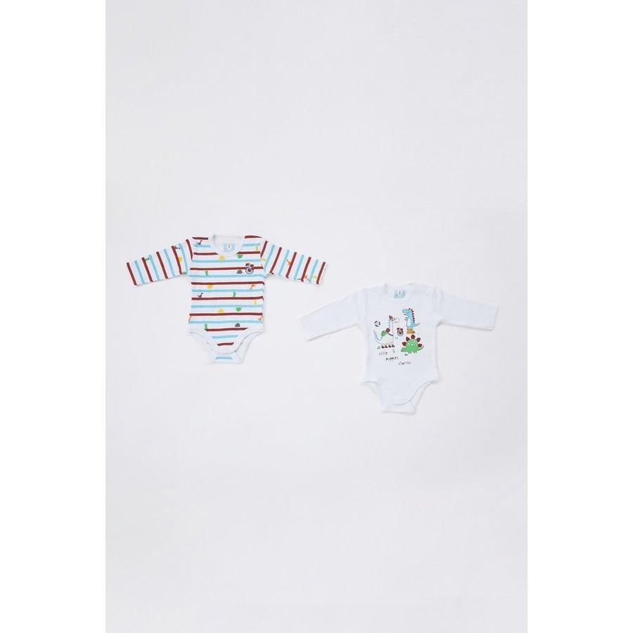 Trabzonspor tweedelig Baby Bodyset Wit