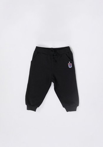 Trabzonspor Baby Training Pants Logo Black
