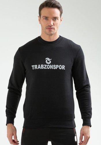 TRABZONSPOR SWEAT BİSİKLET YAKA LOGO VE TRABZONSPOR SARGI NAKIŞLI