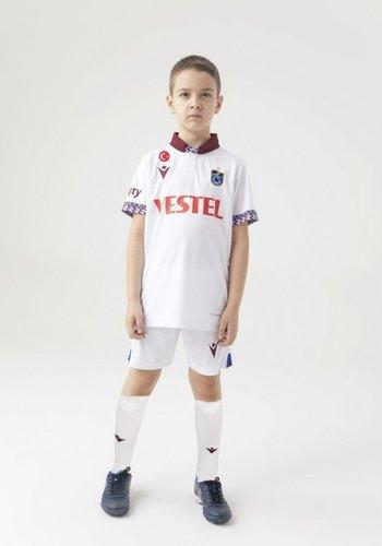 Trabzonspor Macron Trikot Kinder Weiss