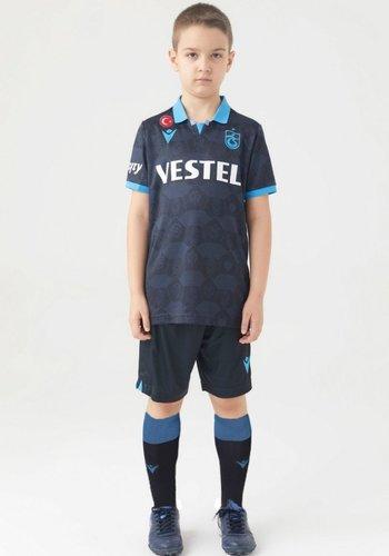 Trabzonspor Macron Shirt Kinderen Jacquard