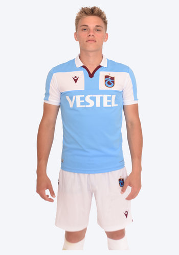 Trabzonspor Macron Shirt Blue