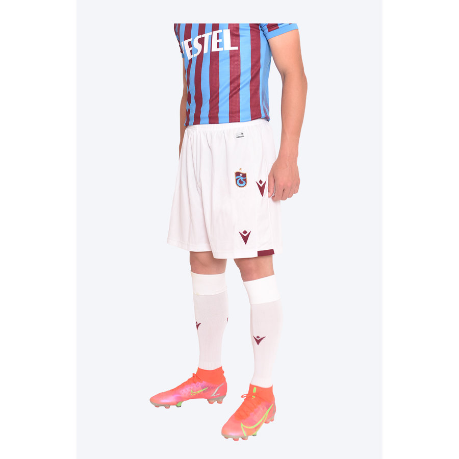 Trabzonspor Macron Short Weiss