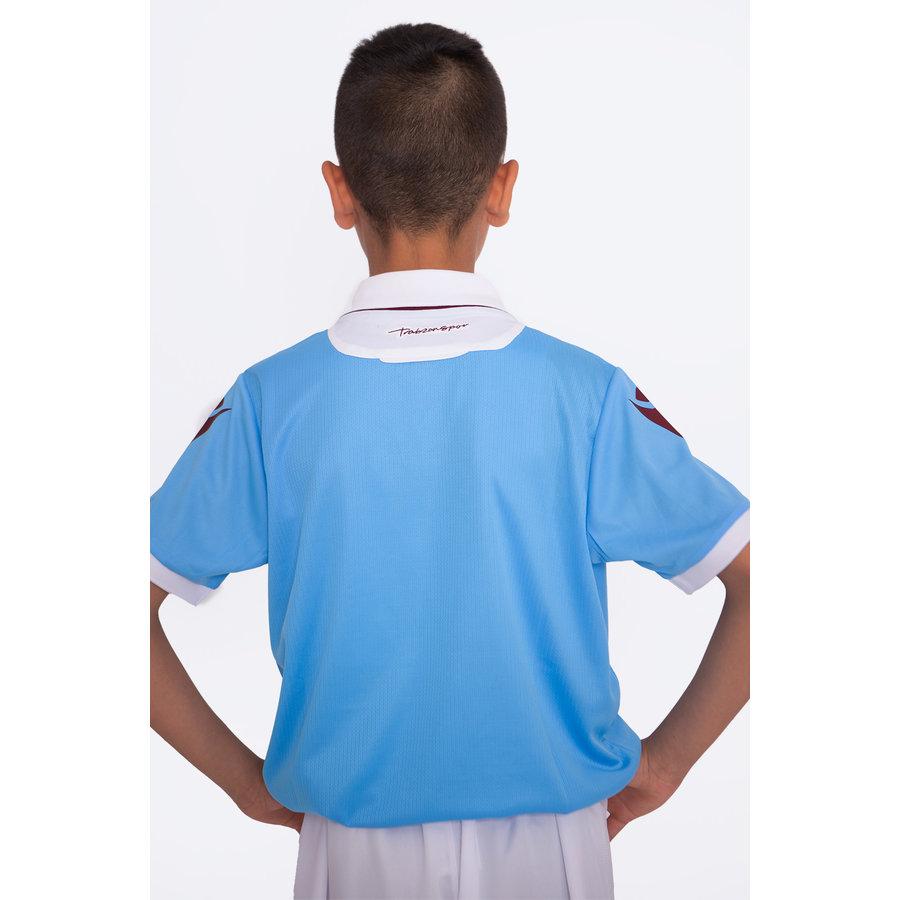 Trabzonspor Macron Shirt Kinderen Blauw