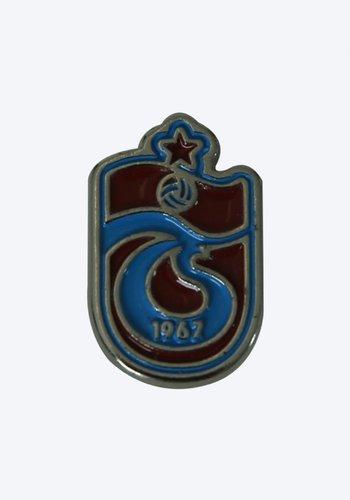 Trabzonspor Bordeauxrot Blau Logo Rosette