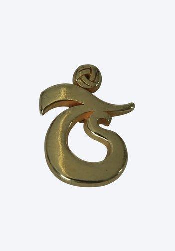Trabzonspor Rosette Logo Gold