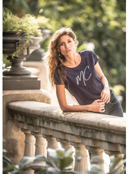 T-shirt Elke navy