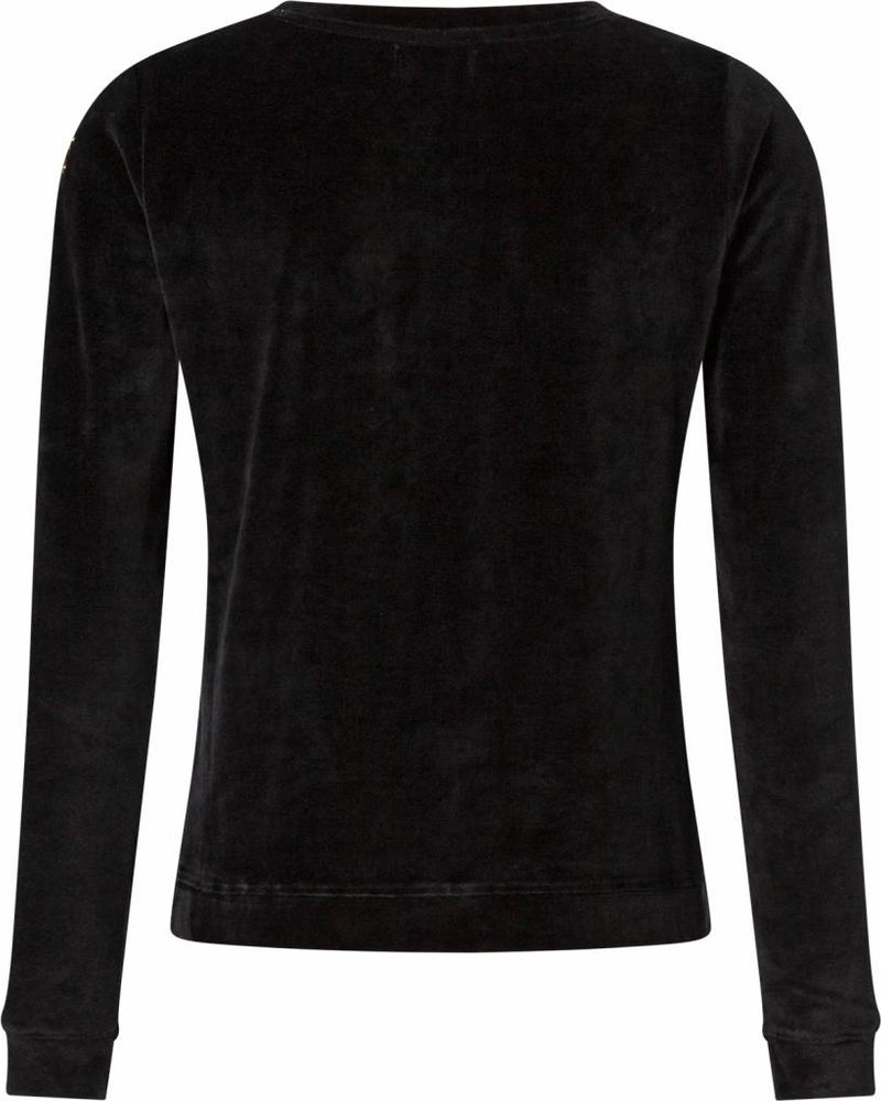 Monica black velvet