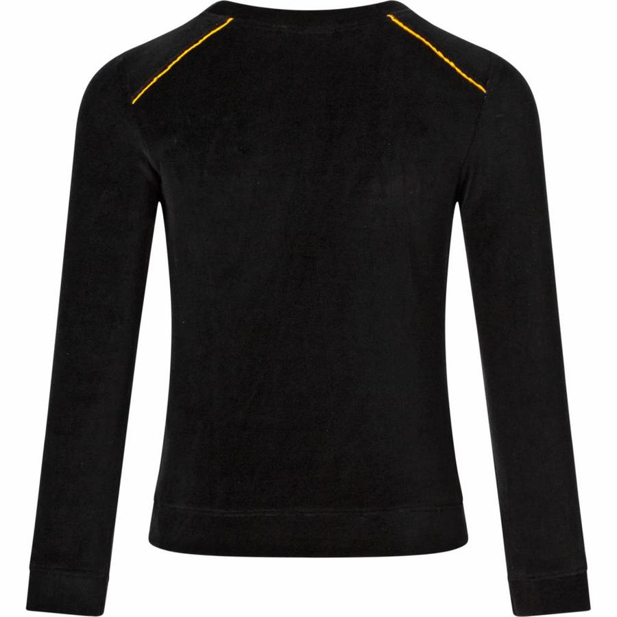 Velvet sweater Bodean black
