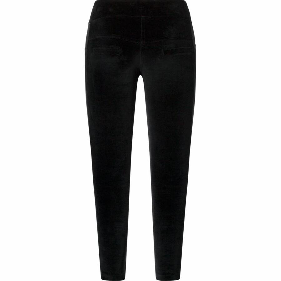 Velvet pants Charlie black