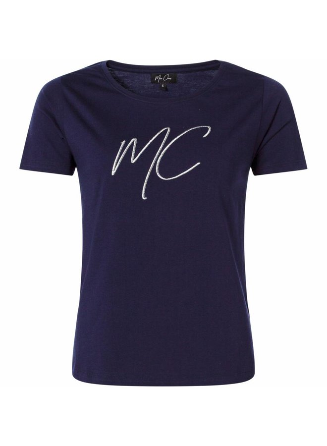 T-shirt Elke navy
