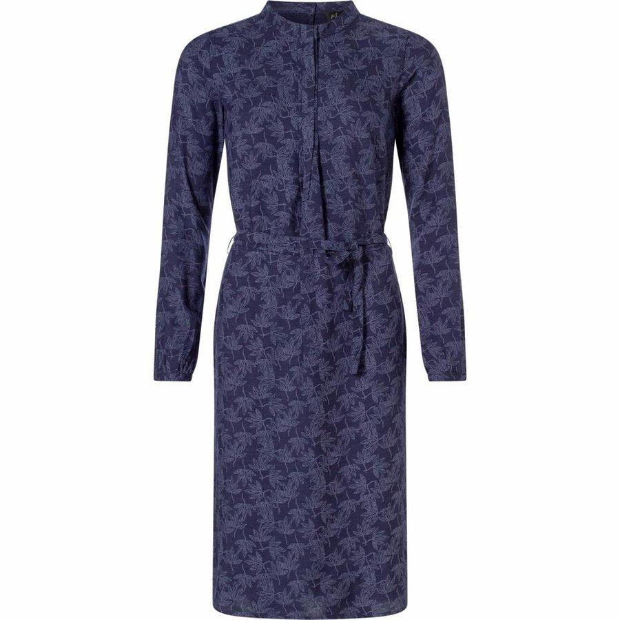 Dames jurk Mira navy print