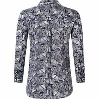 Dames blouse Moon navy