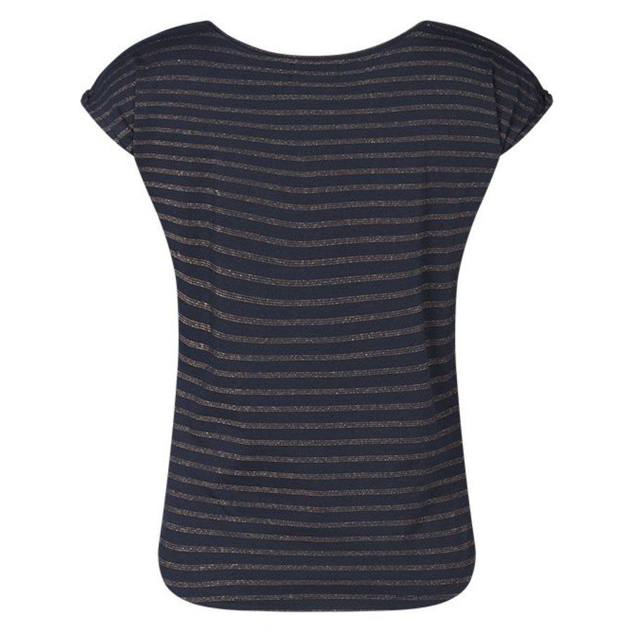 Miss Chaos Dames T-shirt Milli stripe