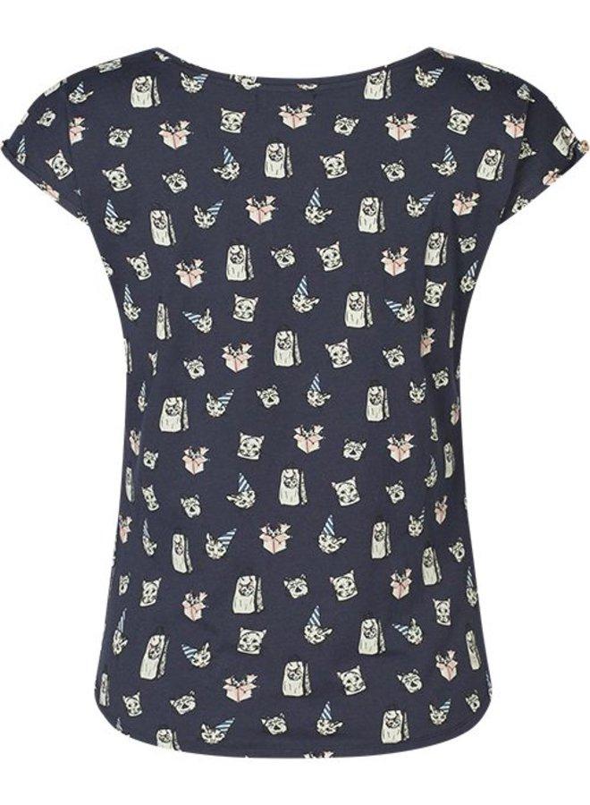 Dames T-shirt Milli print