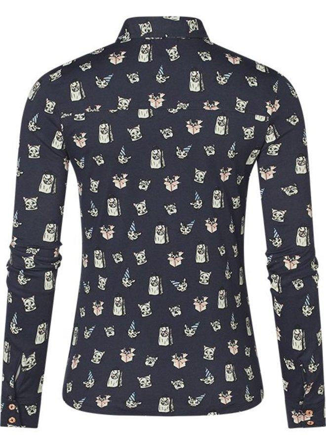 Dames blouse Mara print