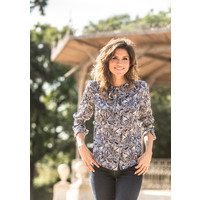 Dames blouse Mandy navy