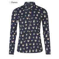 Miss Chaos Dames blouse Mara print