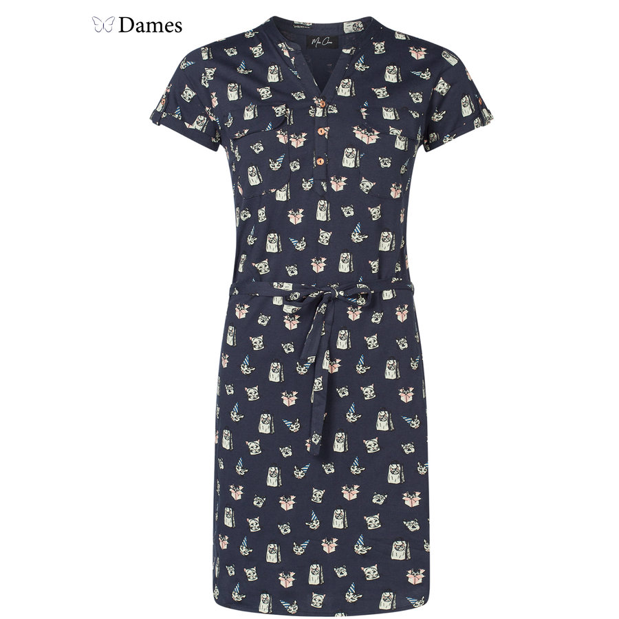 Dames jurk Max print
