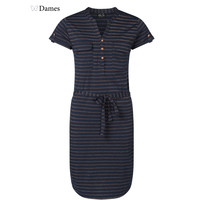 Miss Chaos Dames jurk Max stripe