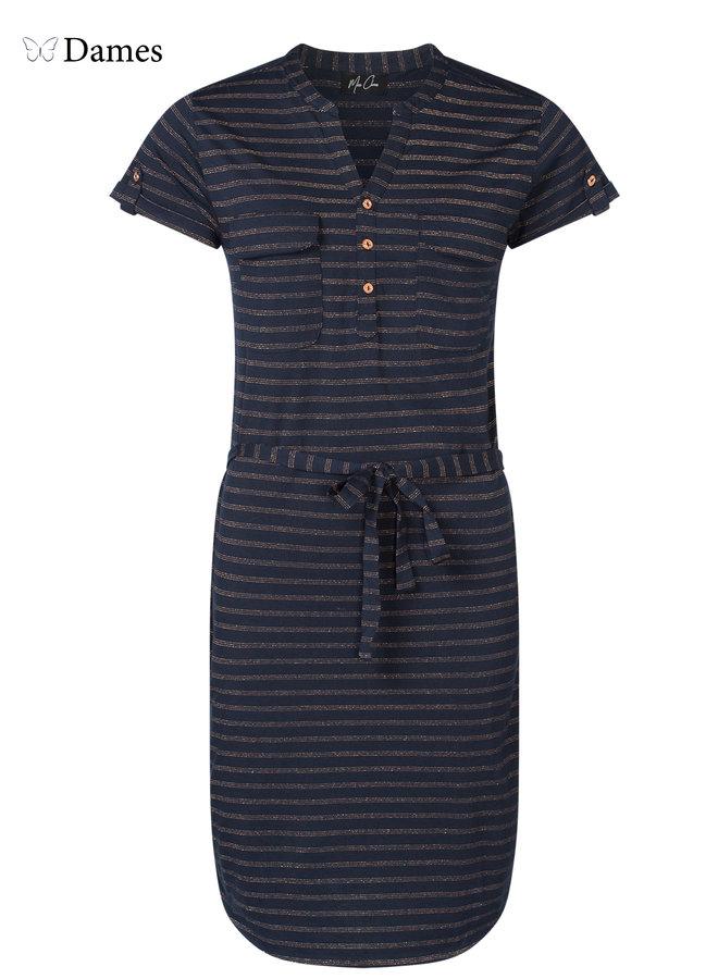 Dames jurk Max stripe