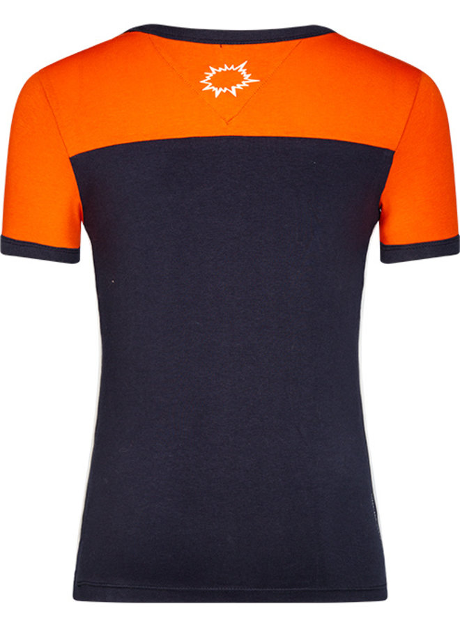 T-shirt Ted orange