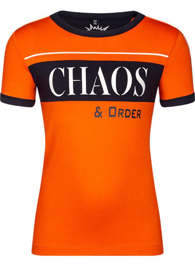 T-shirt Teun orange