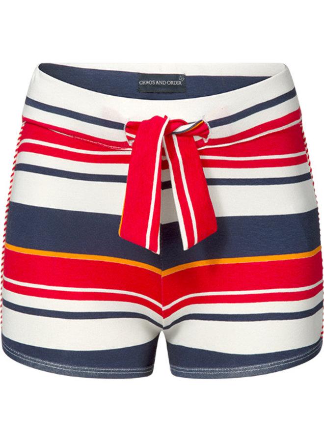 Sandy red stripe