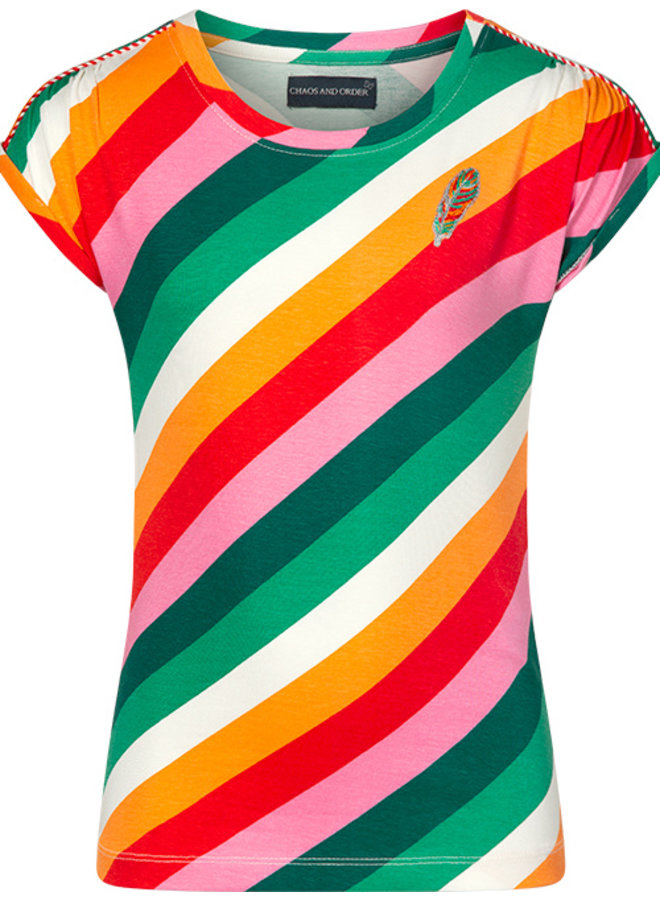 T-shirt Tally stripe