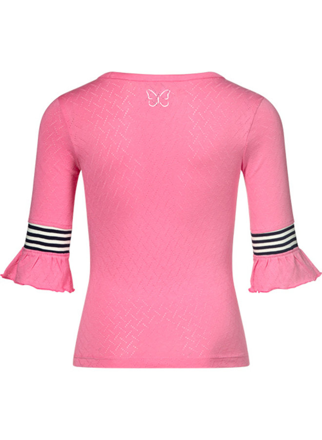 Knitted top Tess pink