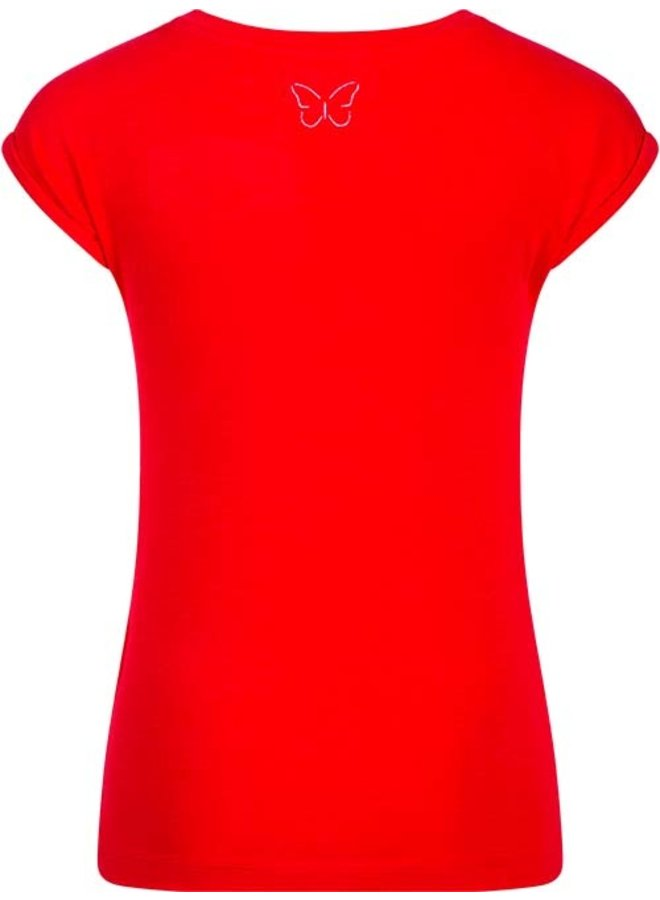 T-shirt Tally red