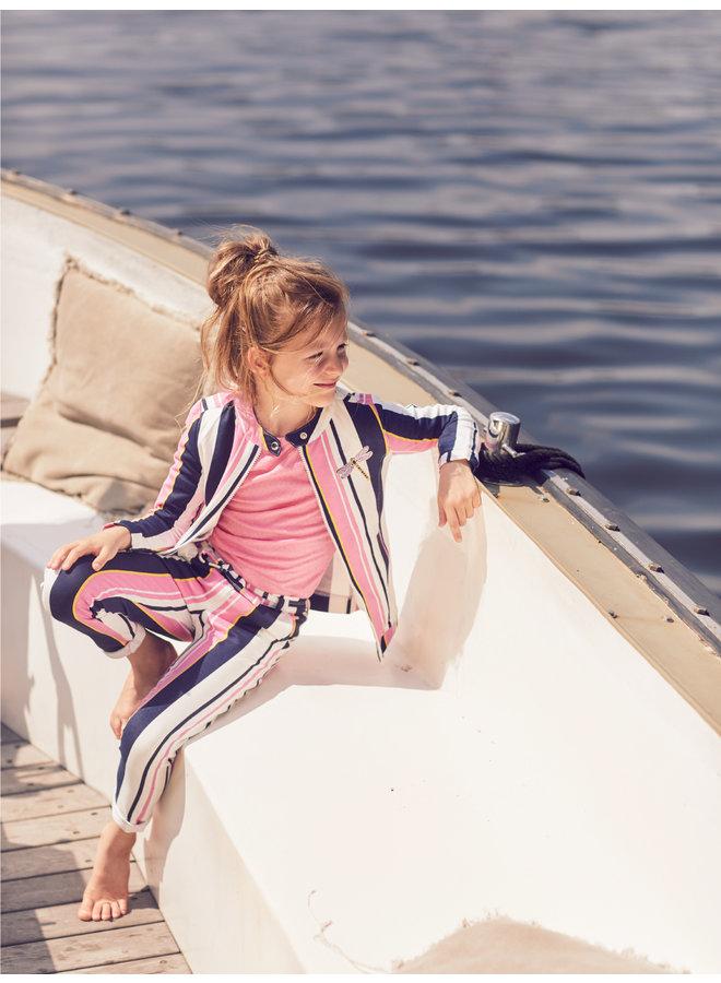Jasje Tara pink stripe