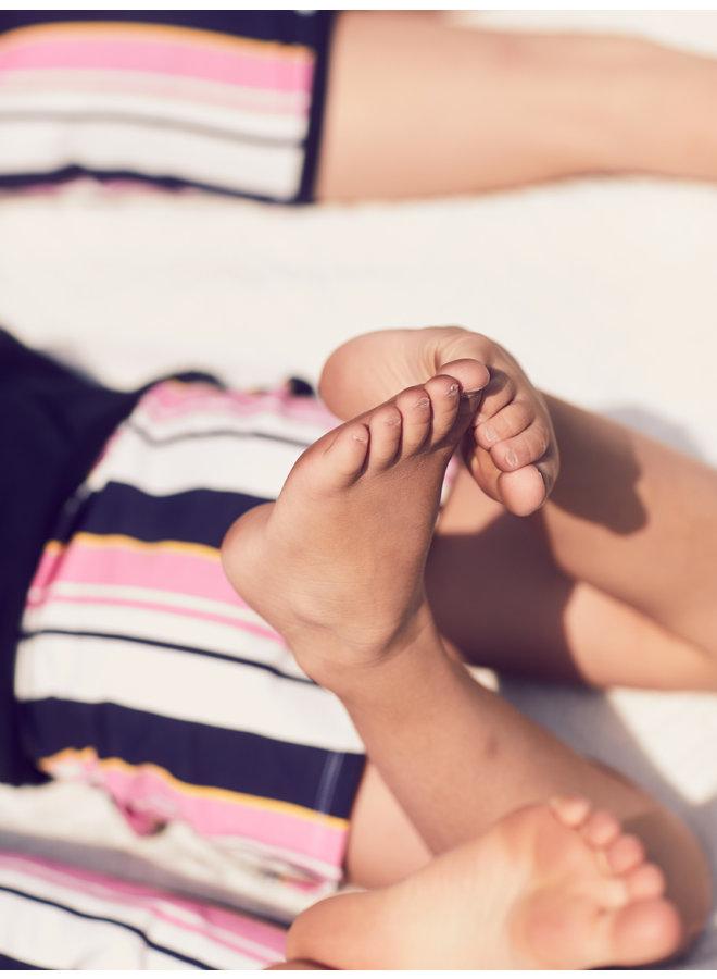 Rokje Susan pink stripe